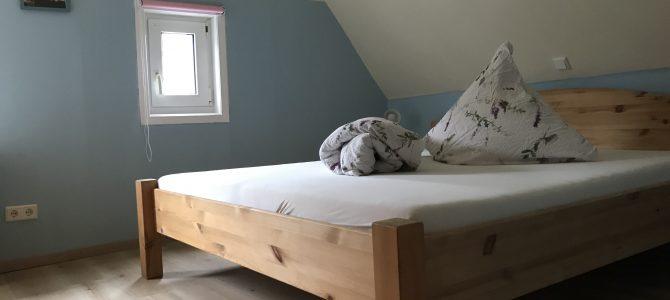 Schlafzimmer renoviert