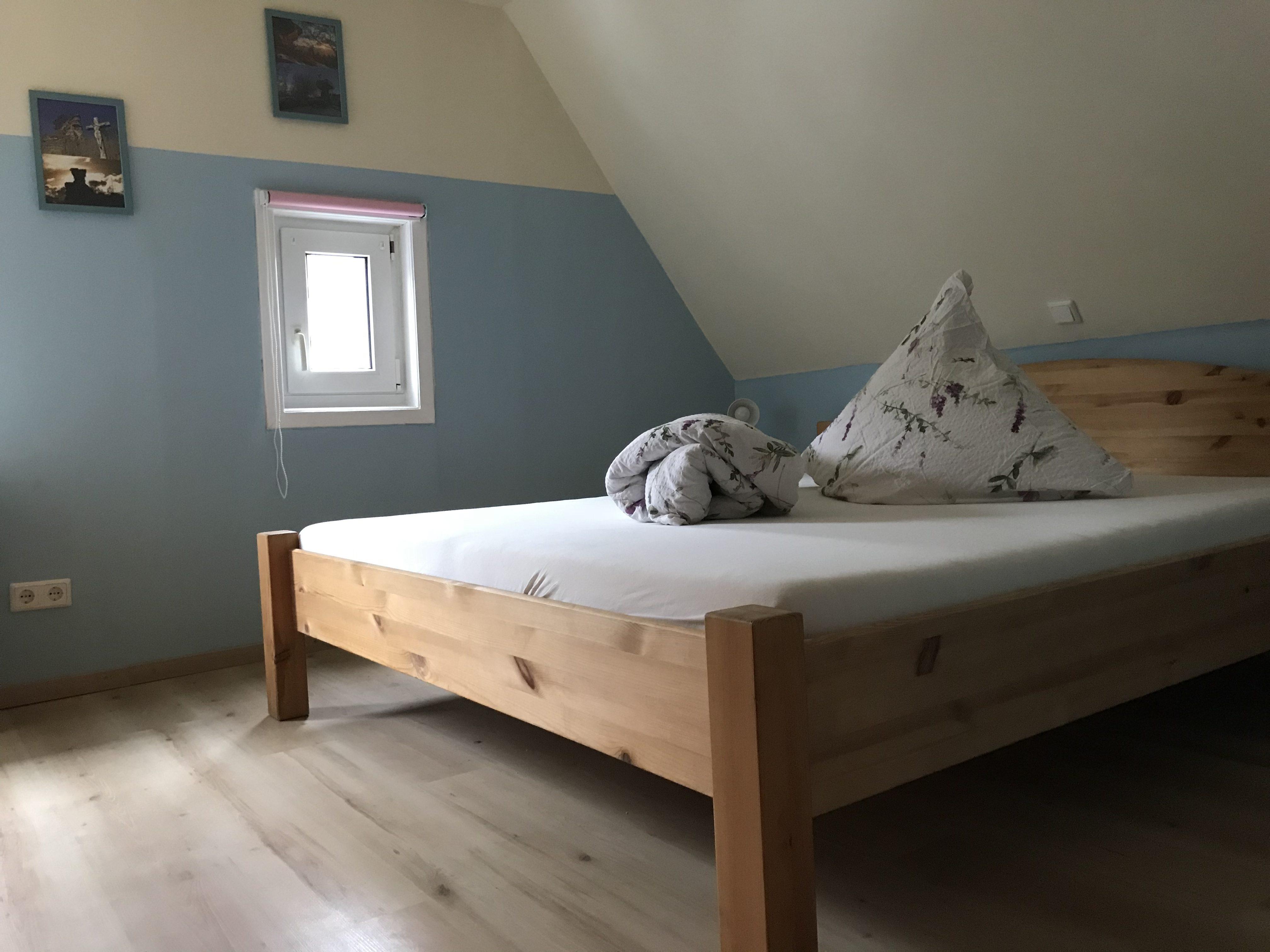 Schlafzimmer renoviert – Ferienhaus Katharina